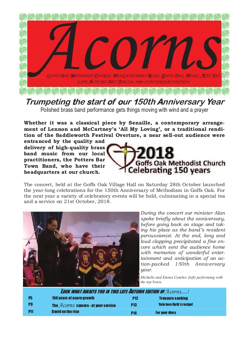 Acorns Autumn 2017