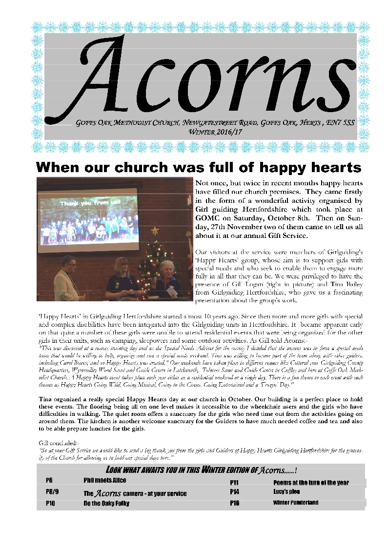 Acorns Winter 2017