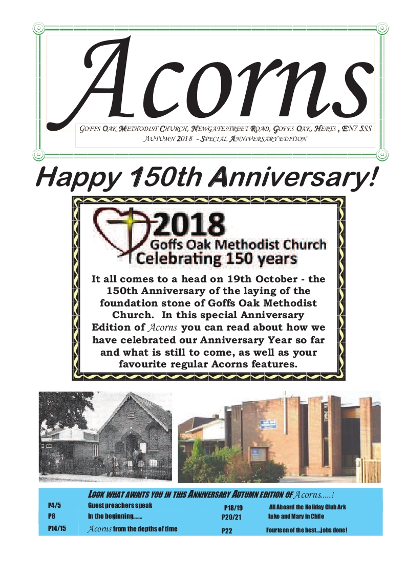 Acorns 2018 Anniversary edition