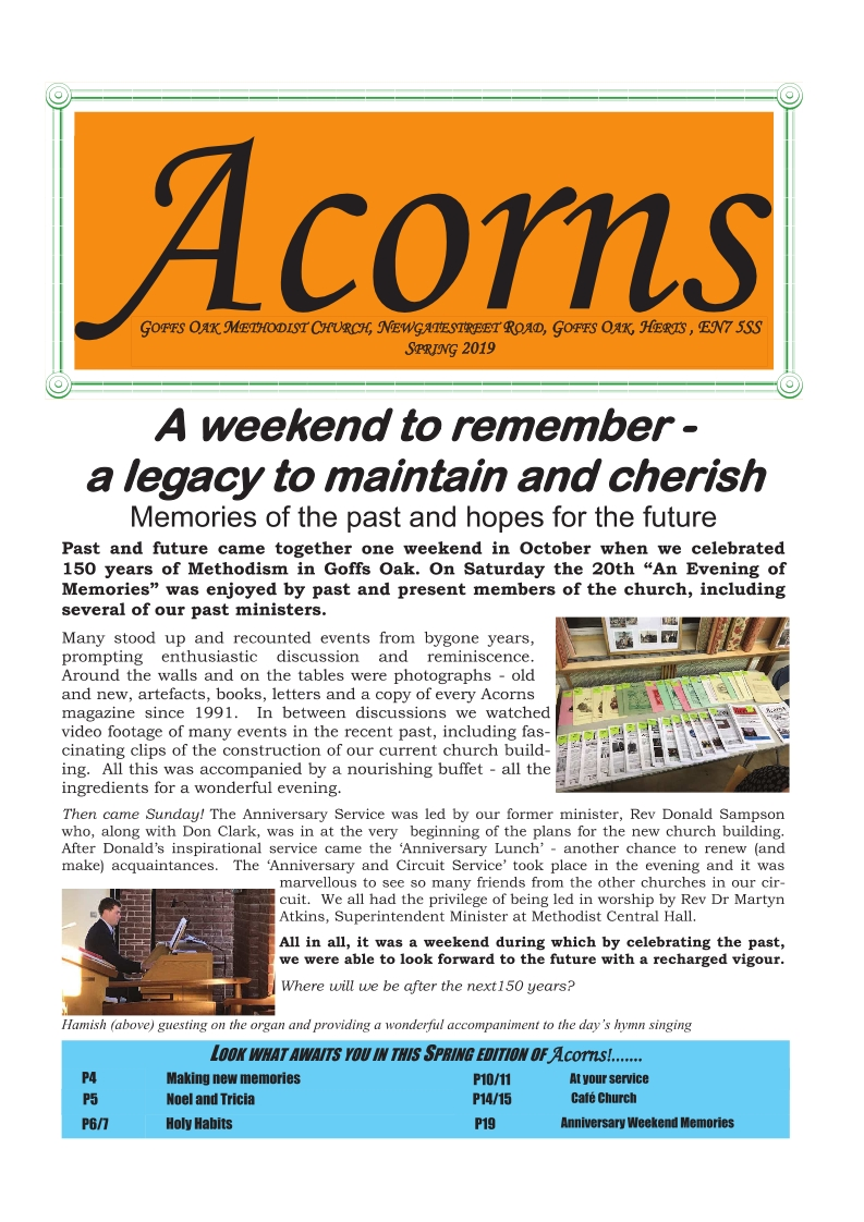 Acorns 2019 Winter Spring